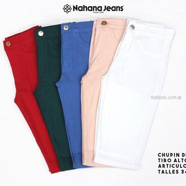 jeans de colores - Nahana verano 2019