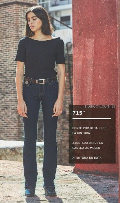 jeans recto clasico Levis mujer verano 2019