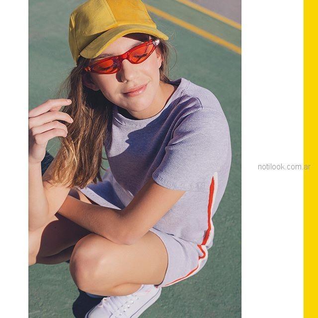 look deportivo casual para teenager verano 2019 - Muaa