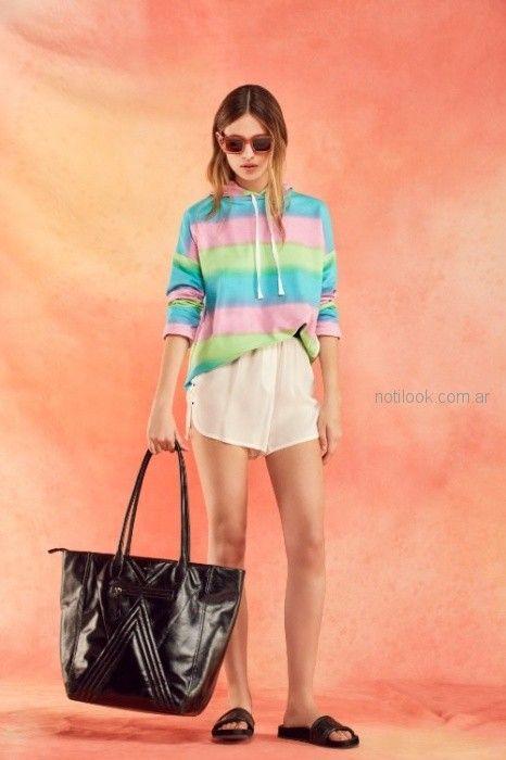 look mujer urbano short verano 2019 - Ayres