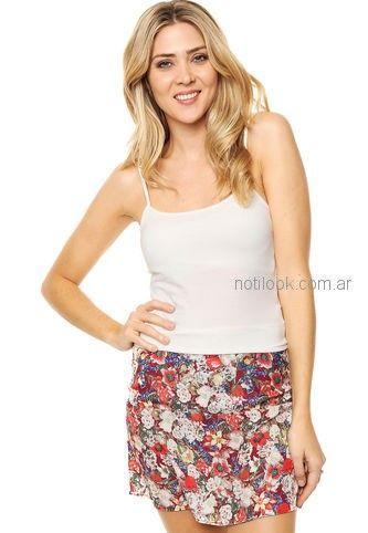 minifalda de fibrana Kill verano 2019