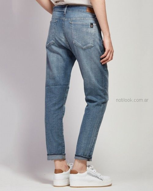 pantalon recto mujer Wanama primavera verano 2019