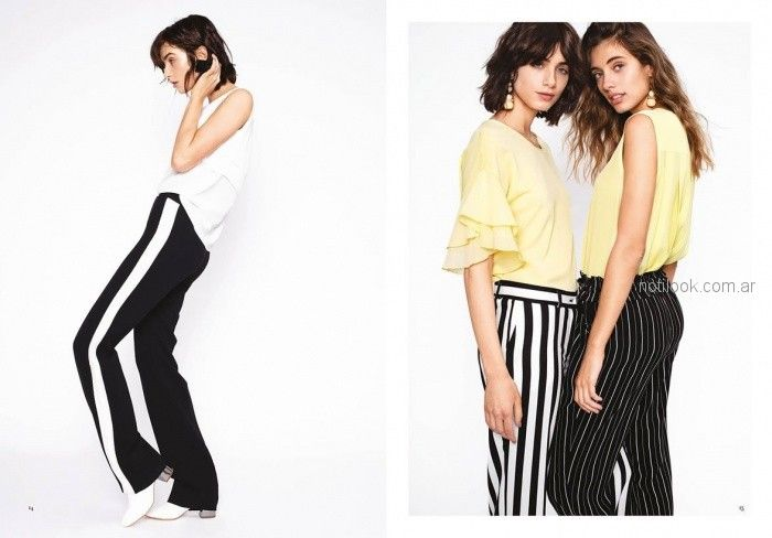 pantalones para ir a trabajar para mujer verano 2019 rafael garofalo