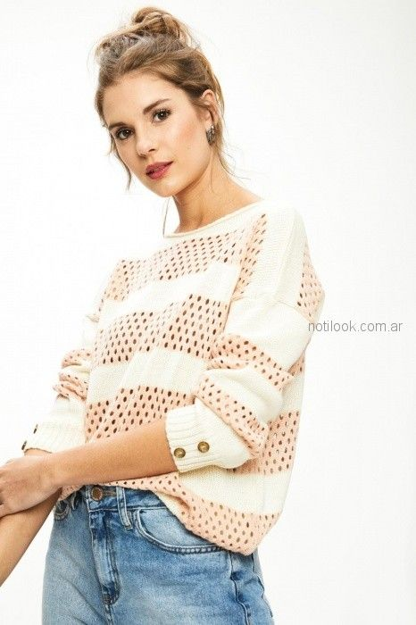 sweater calado primavera verano 2019 - Sweet