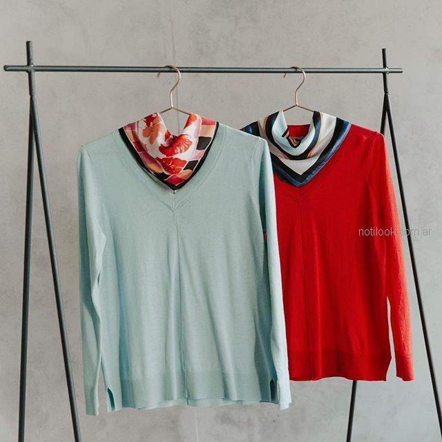sweater de hilo yagmour verano 2019