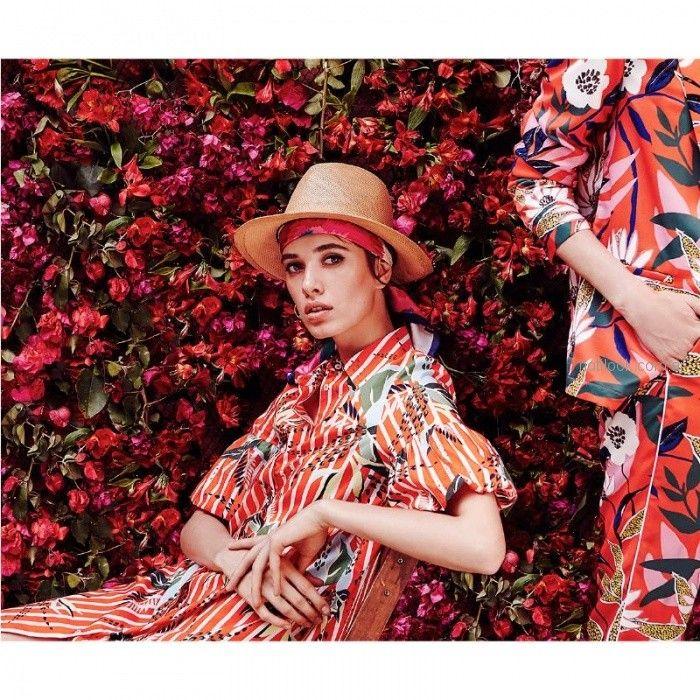 vestido camisero estampado verano 2019 - Portsaid