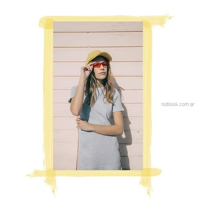 vestido corto algodon para adolescentes verano 2019 - Muaa