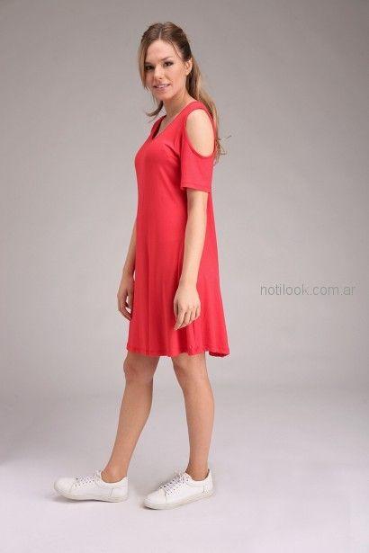 vestido de jersey informal para señoras Brandel primavera verano 2019