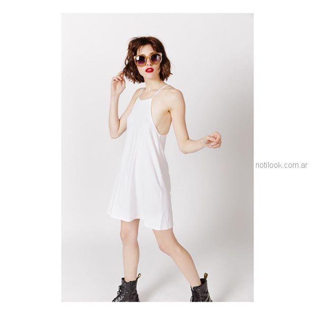 vestido informal teenager Sofia Caputo primavera verano 2019