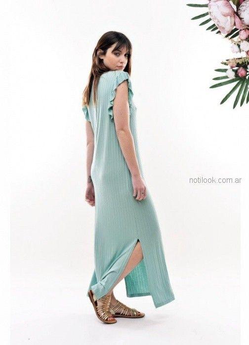 vestido largo urbano Baloop verano 2019