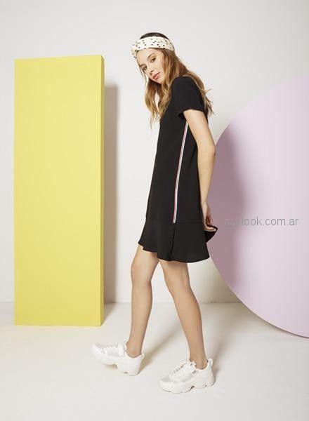 vestidos cortos informales mujer Nucleo primavera verano 2019