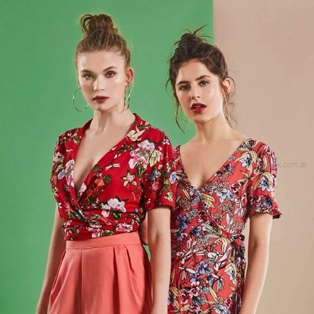 Inversa -estampados florales - moda urbana verano 2019