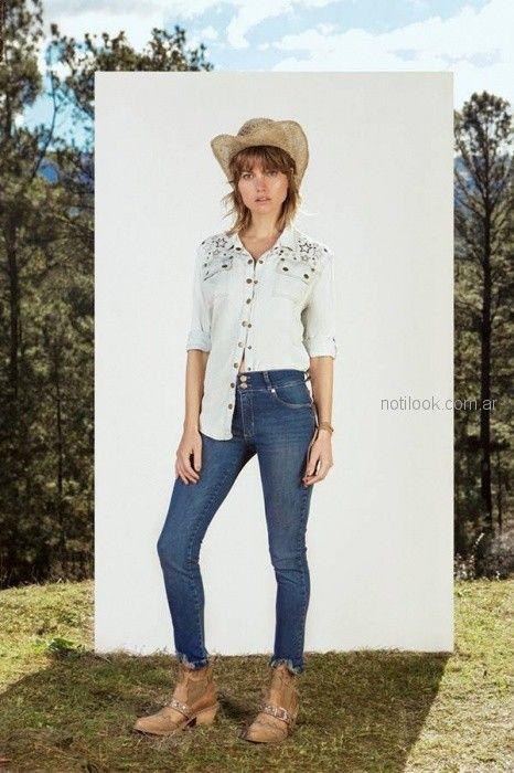 Look en jeans verano 2019 - Vesna