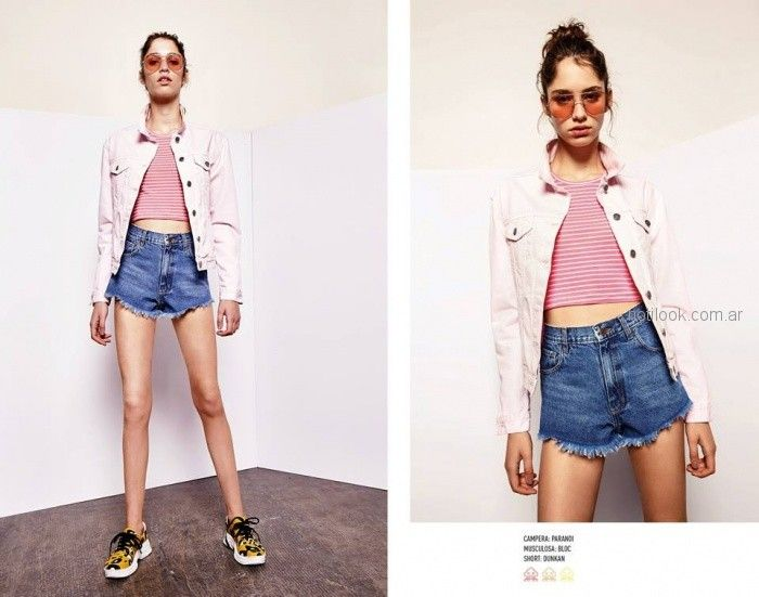Short de moda juvenil verano 2019 - Kimeika