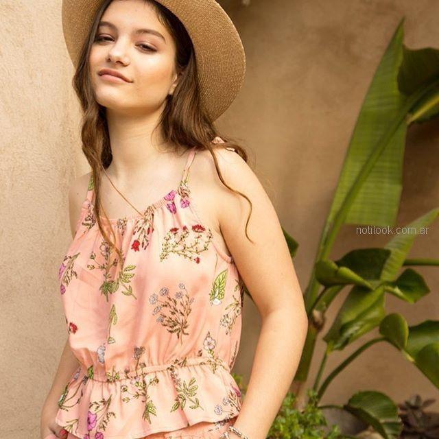 blusa estampada teenager verano 2019 - Te Lo Juro