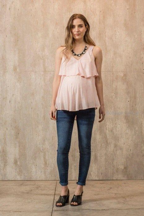 blusas musculosas para embarazadas Maa Maternity primavera verano 2019