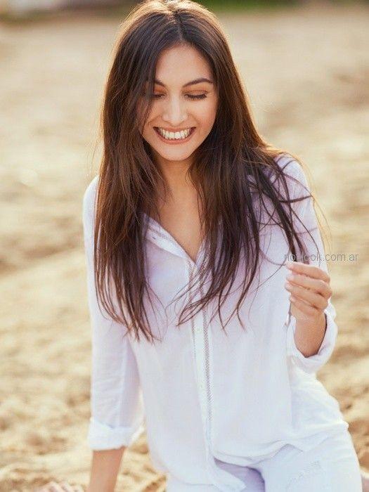 camisa blanca mujer Sail verano 2019