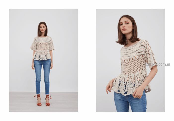 camisola a crochet Vero Alfie verano 2019