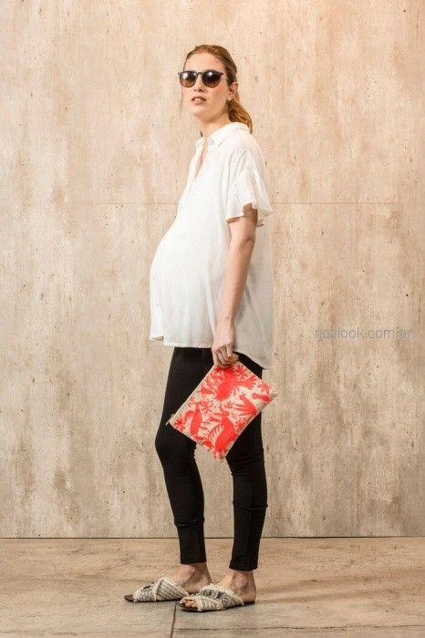 chupin para embarazadas para embarazadas Maa Maternity primavera verano 2019