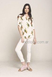 jeans blanco mujer City Jenifer verano 2019