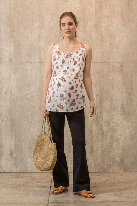 jeans oxford para embarazadas Maa Maternity primavera verano 2019