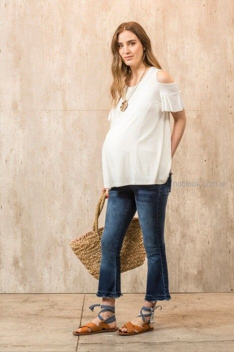 jeans para embarazadas Maa Maternity primavera verano 2019