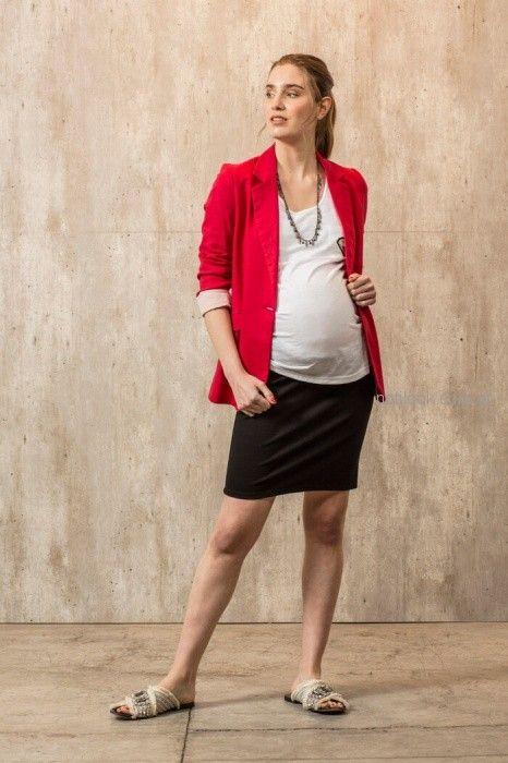 minifalda para embarazadas Maa Maternity primavera verano 2019