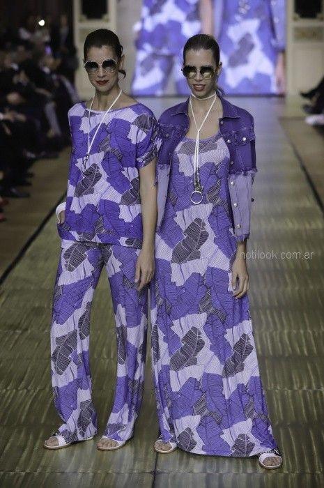 moda urbana para señoras Adriana Costantini primavera verano 2019