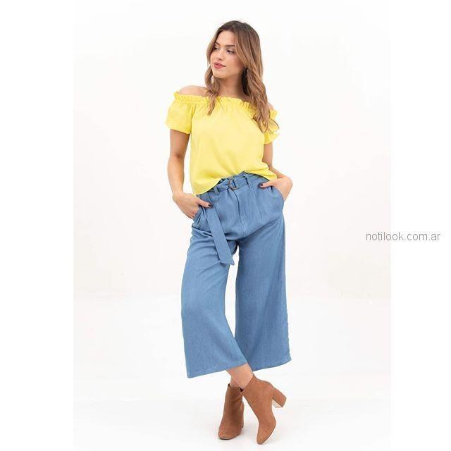 oantalon denim fino verano 2019 - Alma Jeans