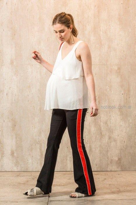 pantalon oxford para embarazadas Maa Maternity primavera verano 2019