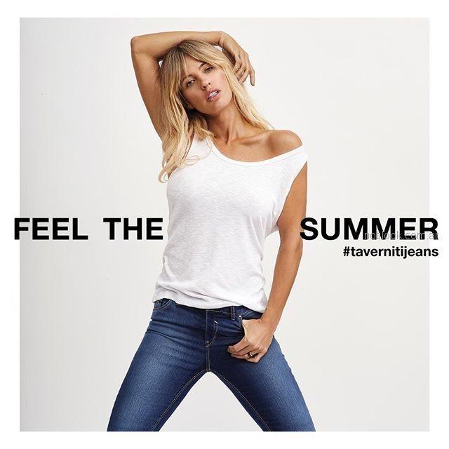 remera basica y jeans Taverniti verano 2019