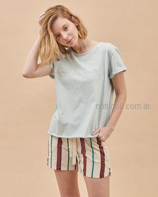 short a rayas mujer System Basic verano 2019