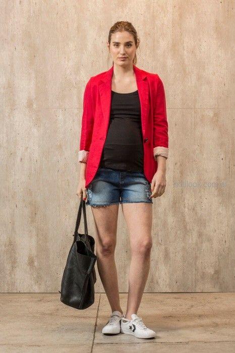 short denim para embarazadas Maa Maternity primavera verano 2019