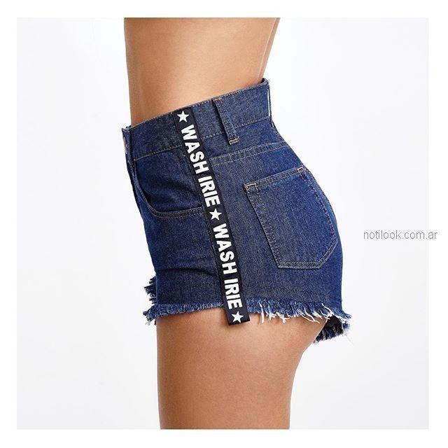 short jeans Taverniti verano 2019  0d959ed68380