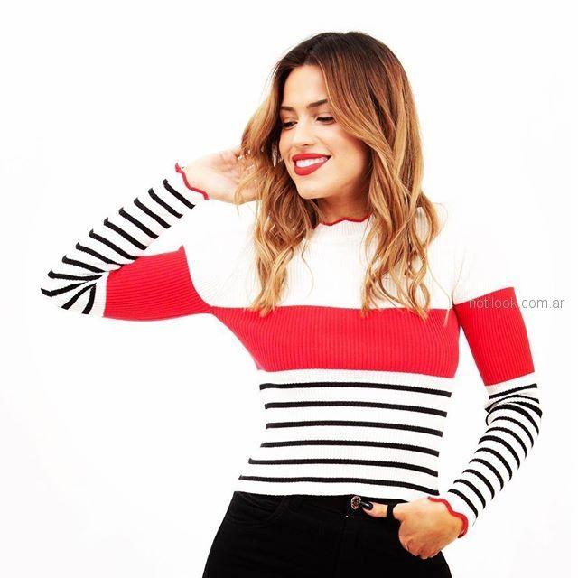 sweater - abrigos primavera verano 2019 - Alma Jeans