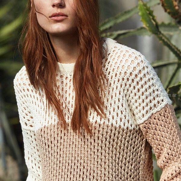 sweater hilo mujer Etiqueta Negra mujer verano 2019