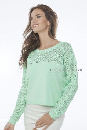 sweater juveniles de hilo Nuss Tejidos primavera verano 2019