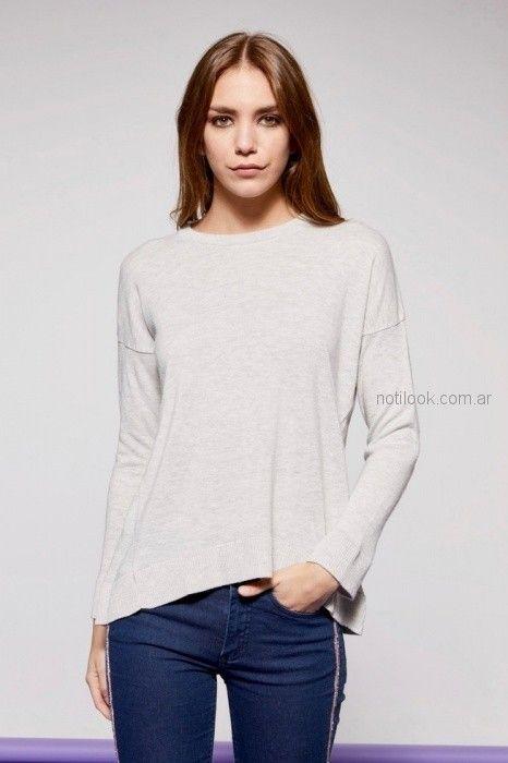 sweater lisos mujer Millie primavera verano 2019