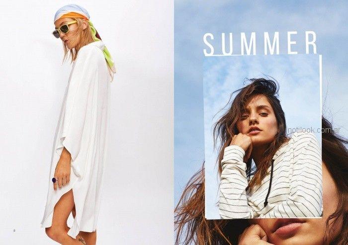 vestido camisero casual verano 2019 - Inedita Argentina
