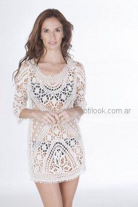 vestido de hilo calado Nuss Tejidos primavera verano 2019
