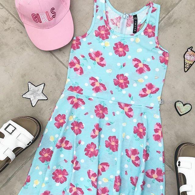 vestido estampado teenager verano 2019 - Te Lo Juro