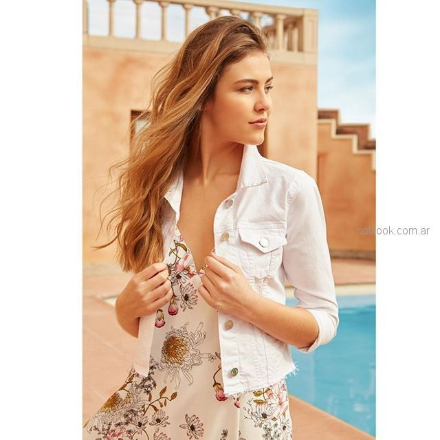 Vestidos de blanco primavera verano 2019
