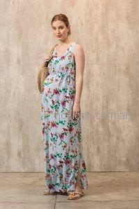 Vestido Largo Para El Dia Para Embarazadas Maa Maternity