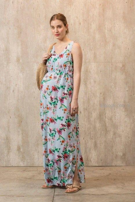 vestido largo para el dia para embarazadas Maa Maternity primavera verano 2019
