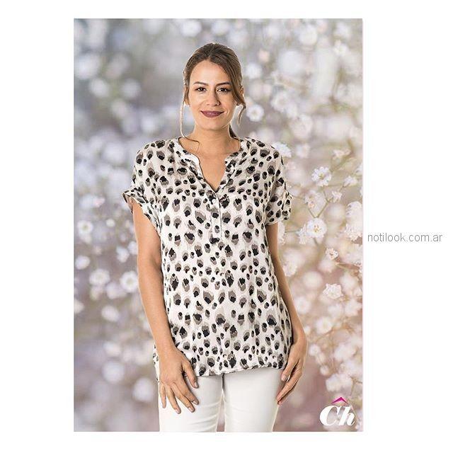 blusa urbana para señoras chatelet verano 2019