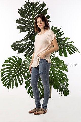 chupn elastizado y remera basica okoche primavera verano 2019