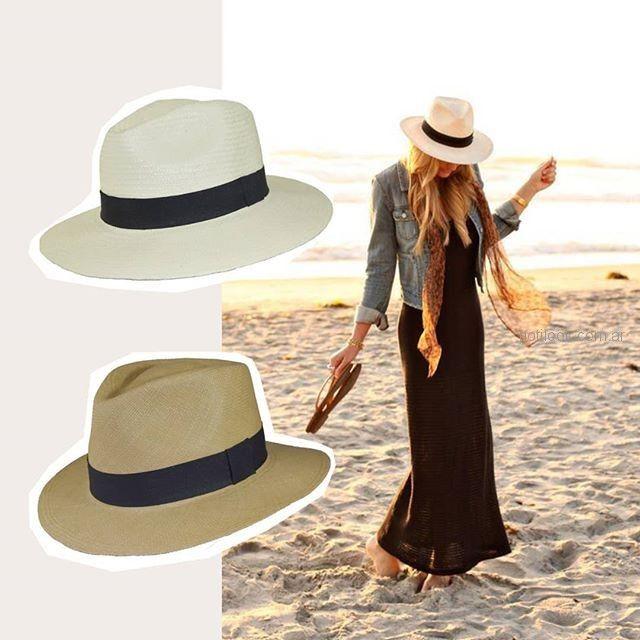 gorro capelina para la playa Compañia de sombreros verano 2019