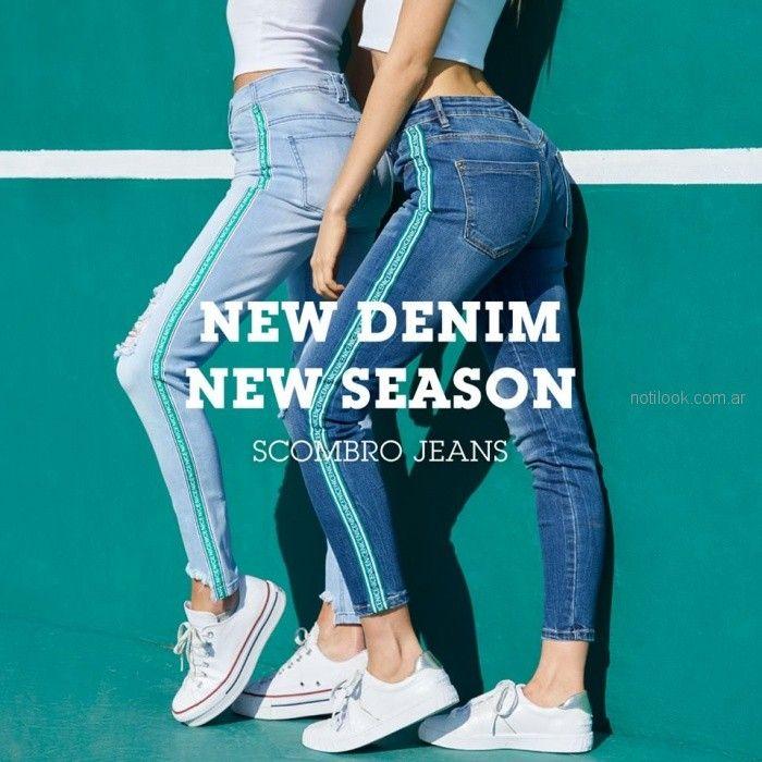 jeans chupin juvenil mujer Scombro Jeans verano 2019