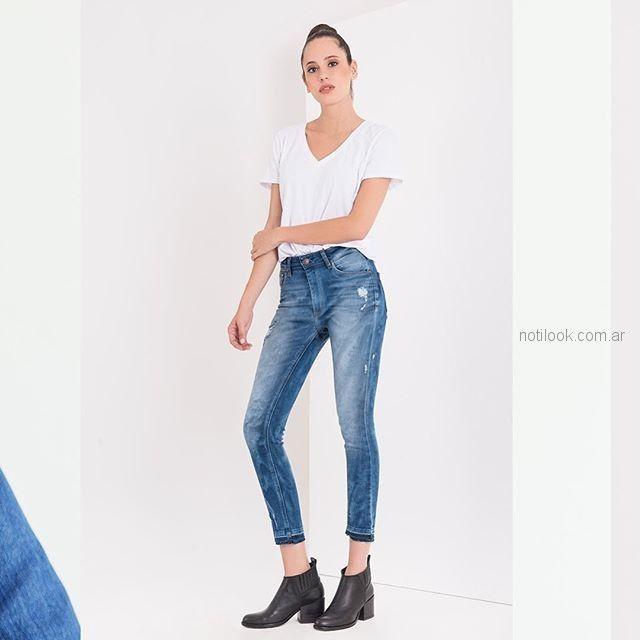 jeans chupin nevado Adicata jeans verano 2019