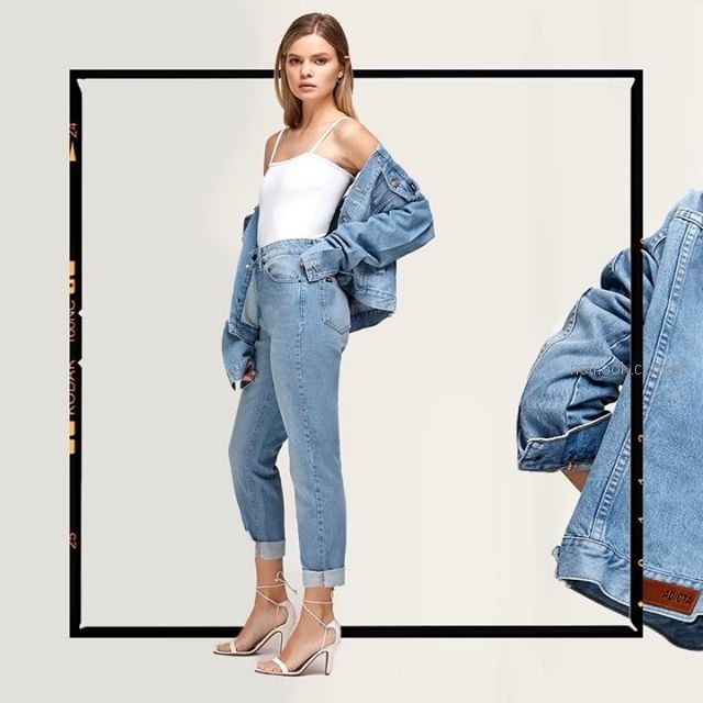 jeans tiro alto Adicata jeans verano 2019